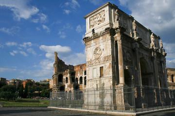 Arco di Costantino e Colosseo