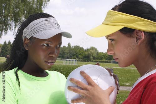 vorsichtige annäherung, ballspiel