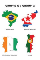 WM 2010 - Gruppe G