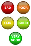 Rating buttons
