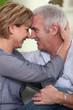 Complicité d'un couple de seniors