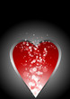 Abstract background. Heart shape.
