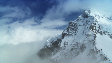 T/lapse Clouds on Swiss Monch Mountain