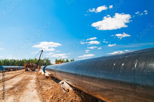 Gas(oil) pipeline construction - 23794319