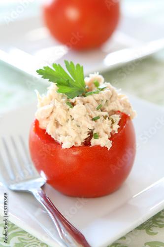 Tomato Stuffed with Tuna Salad