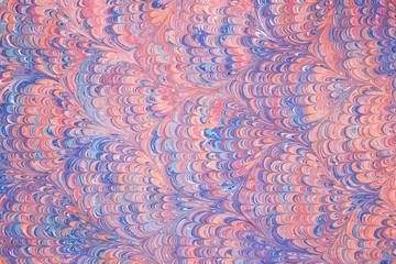 Marbled paper artwork background