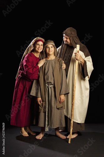 Mary, Joseph And Young Jesus