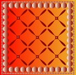 Orange patterned background