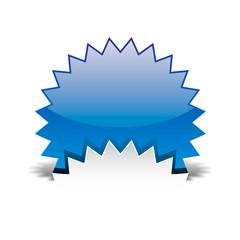 Cerchio blu stellato con riflesso incastrato