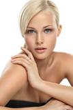 Fototapety Beautiful blonde girl