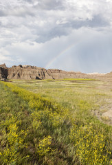 Badlands and Rainbow