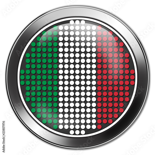 button italien italy retro stick