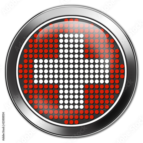 button schweiz switzerland retro