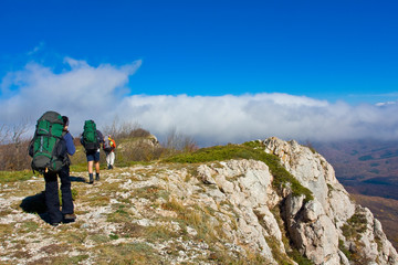 Hiking in the Crimea mountains