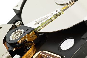 Hard Disk close up