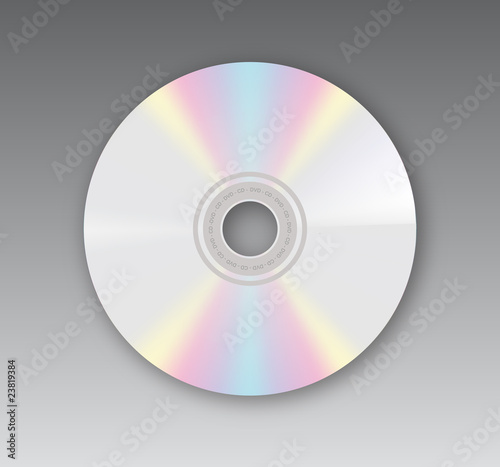 Vector compact disk - 23819384