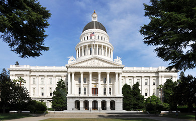 California Capitol Front View