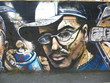 Quadro spray wall graffiti