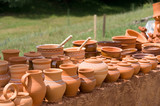 Clay crockery poster