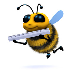 3d Bee measures