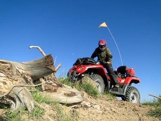 ATV in Escalante