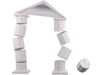 Falling Temple