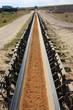 Tagebau-Transportband & Geröll, hochkant 2