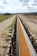 Tagebau-Transportband & Geröll, hochkant 3