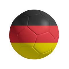 3D Ball withi german  Flag
