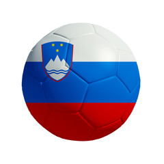 3D Ball withi Slovenia Flag