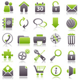 web Green Icons