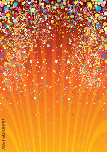 Festive vector background