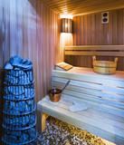 Cozy sauna poster
