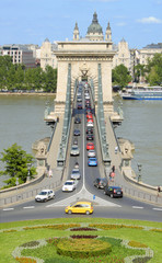 Oldest bridge in Budapest