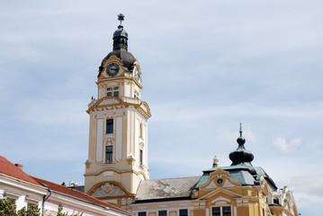 Rathausturm und Rathaus Pécs