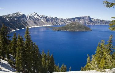 Crater Lake National Park - Oregon, USA