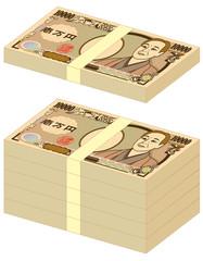 一万円 札束