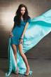 Beautiful woman fashion photo