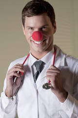Clown Doctor Portrait