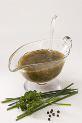 Vinaigrette dressing.