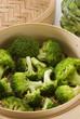 Steamed broccoli.
