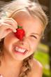 Leinwanddruck Bild - strawberry
