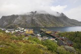 Fishing village on the Lofoten Islands, Norway