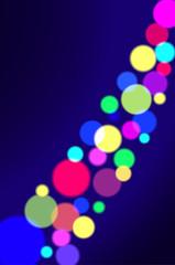 Colorful circles. Vector