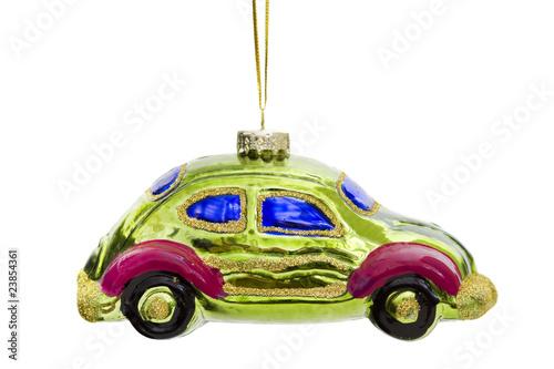 Auto als Weihnachtsschmuck - 23854361