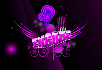 encode text vector illustration