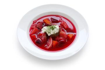 Borsch , Borscht , Russian Beetroot Soup