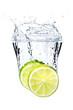 Fruchtige Erfrischung mit Limonen