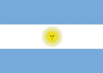 Argentinien fahne