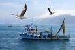 Leinwandbild Motiv fishing boat